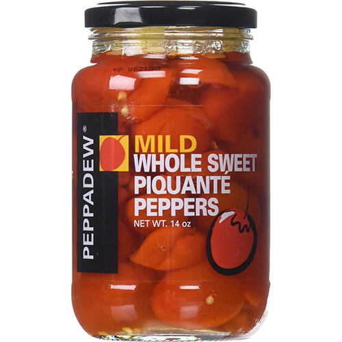 PEPPADEW - MILD PIQUANTE PEPPERS WHOLE - 14oz