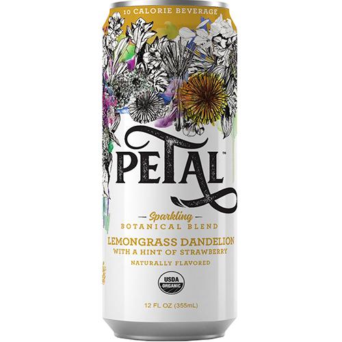 PETAL - SPARKLING (Lemongrass Dandelion) - 12oz