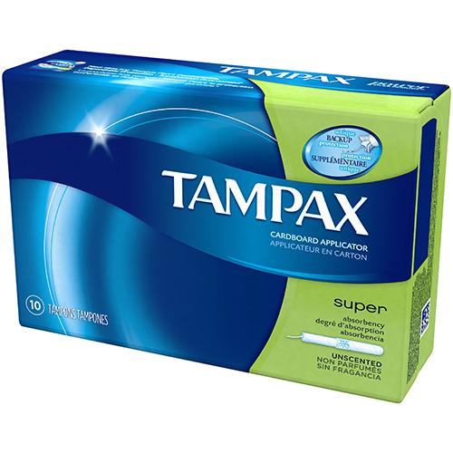 P&G - TAMPAX PEARL - (Super) - 10PCS