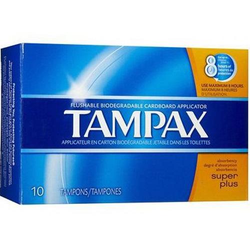 P&G - TAMPAX PEARL - (Super Plus) - 10PCS
