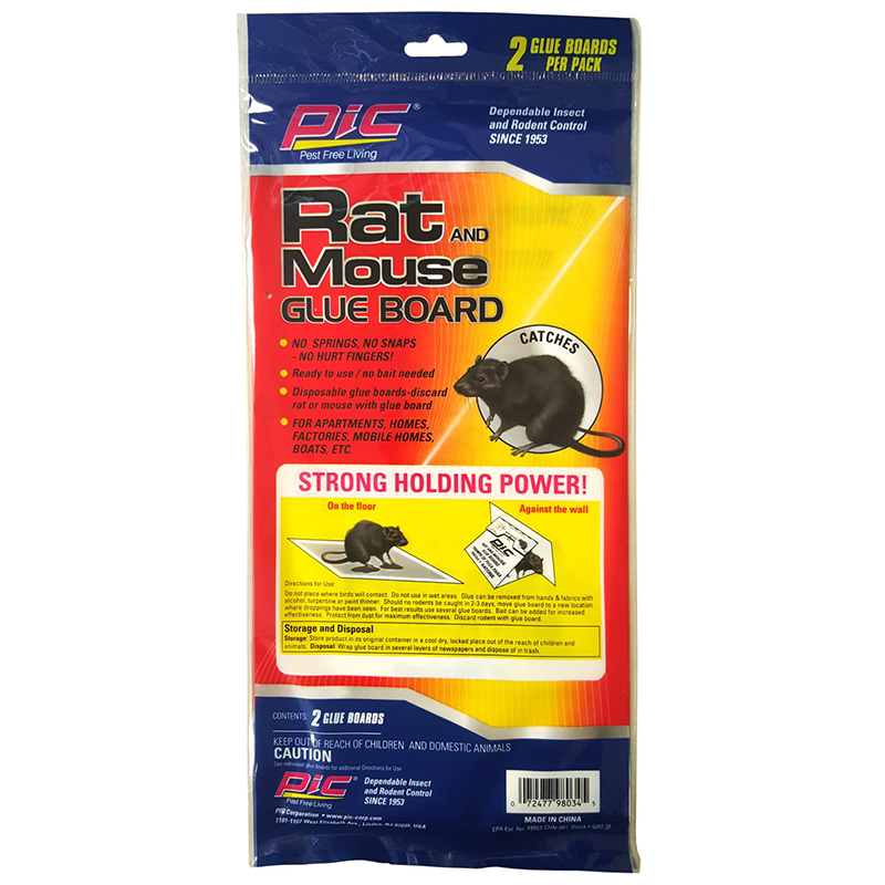 PIC - RAT AND MOUSE GLUE BOARD - 2PCS