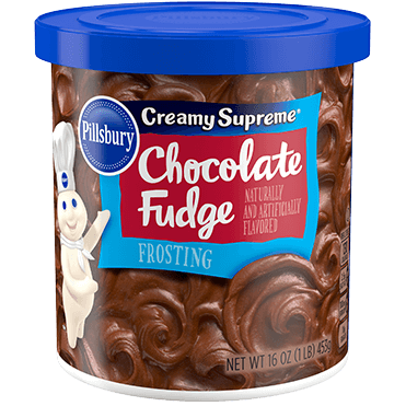PILLSBURY - CREAMY SUPREME CHOCOLATE FUDGE - GLUTEN FREE - 16oz