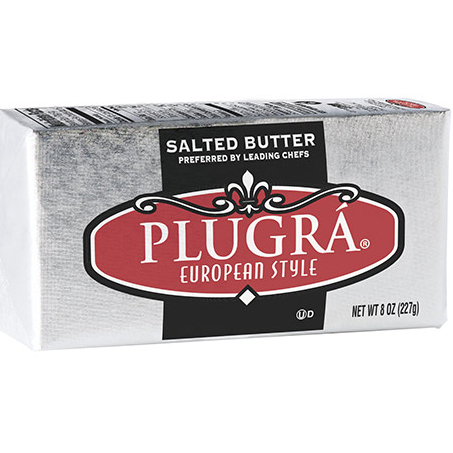 PLUGAR - EUROPEAN STYLE BUTTER - (Salted) - 8oz