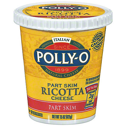 POLLY-O - RICOTTA CHEESE - (Part Skim) - 16oz