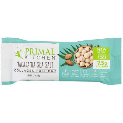 PRIMAL - COLLAGEN FUEL BAR - (Macadamia Sea Salt) - 1.7oz
