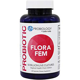 PROBIOLOGY - PROBIOTIC FLORA FEM - 60CAPSULES