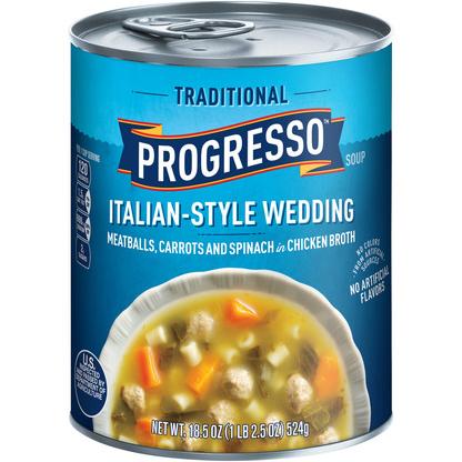 PROGRESSO - SOUP - (Italian-Style Wedding) - 19oz