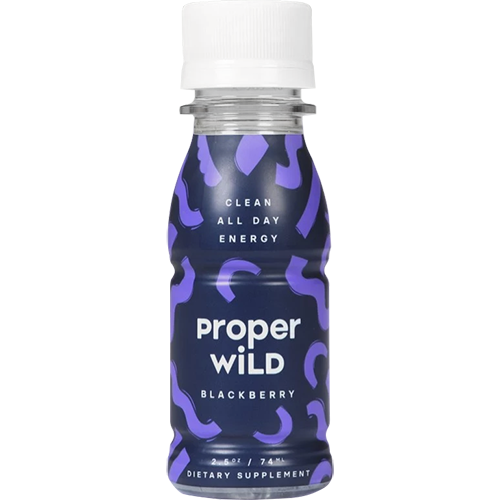 PROPER WILD - CLEAN ALL DAY ENERGY - (Blackberry) - 2.5oz