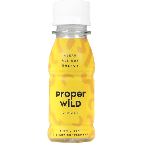 PROPER WILD - CLEAN ALL DAY ENERGY - (Ginger) - 2.5oz