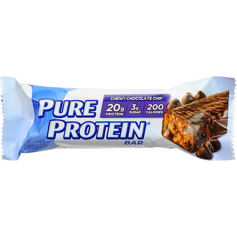 PURE PROTEIN BAR - GLUTEN FREE - (Chewy Chocolate Chip) - 2.75oz