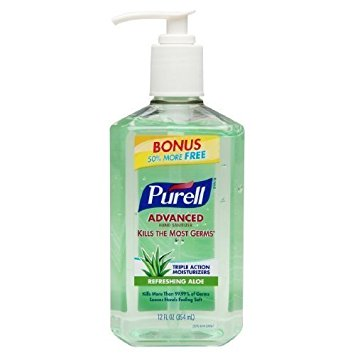 PURELL - ADVANCED HAND SANITIZER - (Refreshing Aloe) - 12oz