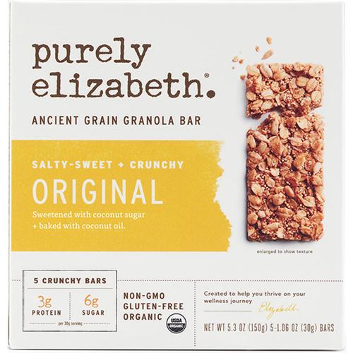 PURELY ELIZABETH - ANCIENT GRAIN GRANOLA BAR - (Original) - 5.3oz