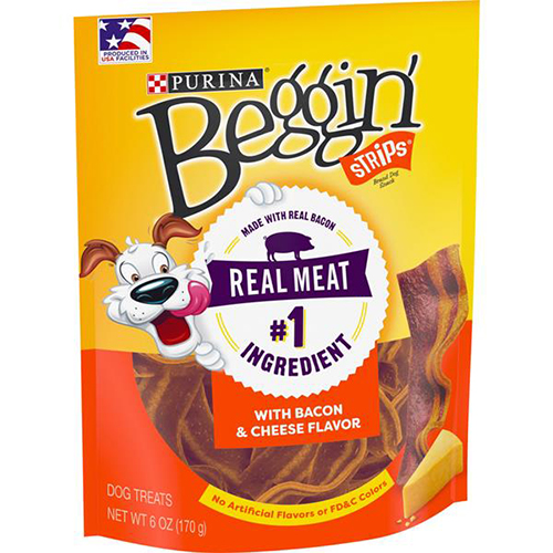 PURINA - BEGGIN' STRIPS (with Bacon & Cheese) - 6oz