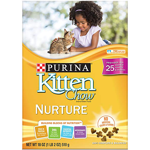 PURINA - KITTEN CHOW - (Nurture) - 18oz