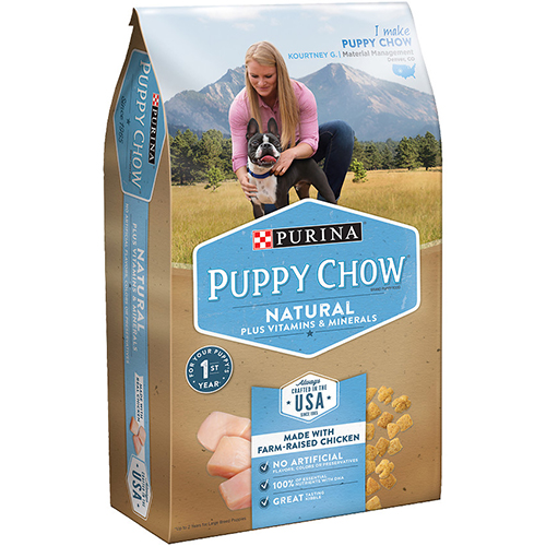 PURINA - PUPPY CHOW - (Natural) - 4LB