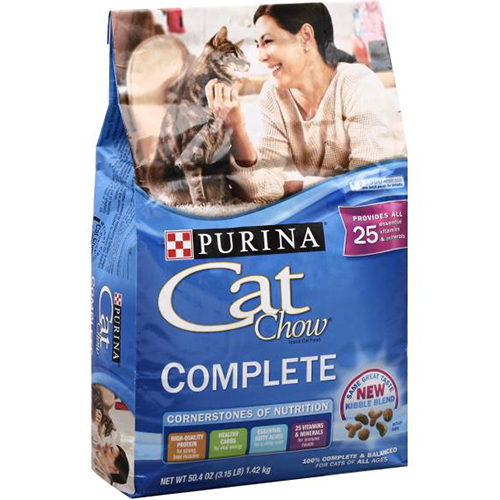 PURINA - CAT CHOW - (Complete) - 3.15LB