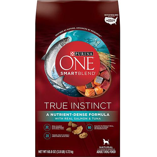 PURINA - ONE SMART BLEND TRUE INSTINCT - (Salmon & Tuna) - 60.8oz