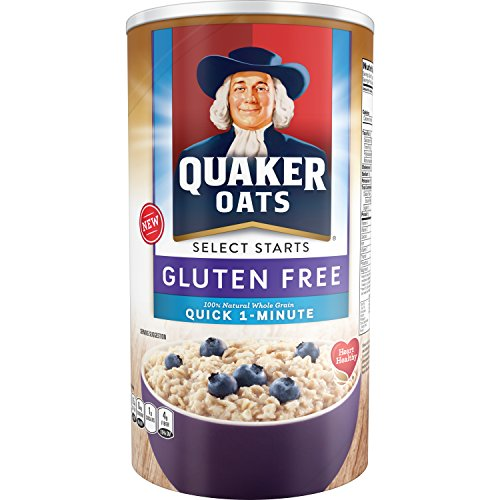 QUAKER OATS - 100% WHOLE GRAIN QUICK 1 MINUTE - NON GMO - GLUTEN