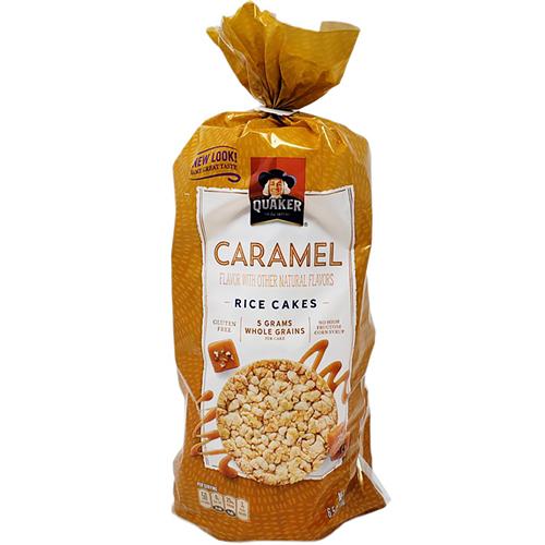 QUAKER - RICE CAKES - (Caramel) - 6.5oz