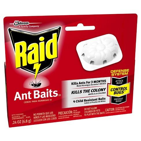 RAID - ANT BAITS - 4ct