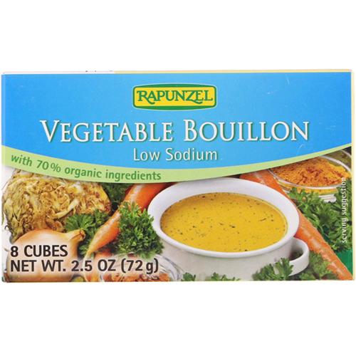 RAPUNZEL - VEGETABLE BOUILLON - (Low Sodium) - 3oz