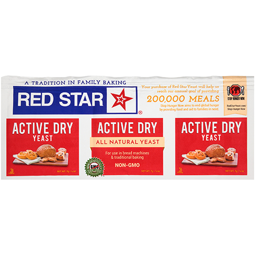 RED STAR - INSTANT YEAST - (Active Dry) - 0.25oz