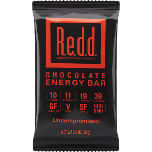 REDD - SUPERFOOD ENERGY BAR - (Chocolate) - 2.2oz