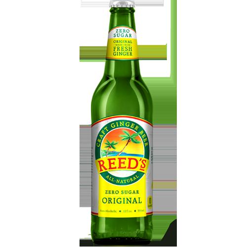 REED'S - CRAFT GINGER BEER - (Zero Sugar Original) - 12oz