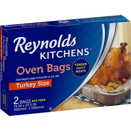 REYNOLDS - OVEN BAGS - (Turkey Size) - 2BAGS