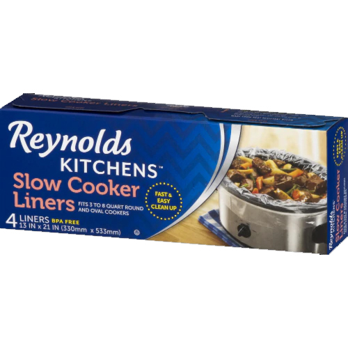 REYNOLDS - SLOW COOKER LINERS - 4 LINERS