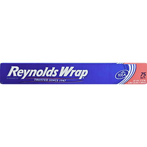 REYNOLDS - WARP ALUMINUM FOIL - 75sqft