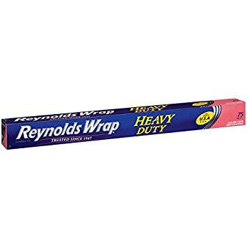 REYNOLDS - WARP ALUMINUM FOIL (Heavy Duty) - 75sqft