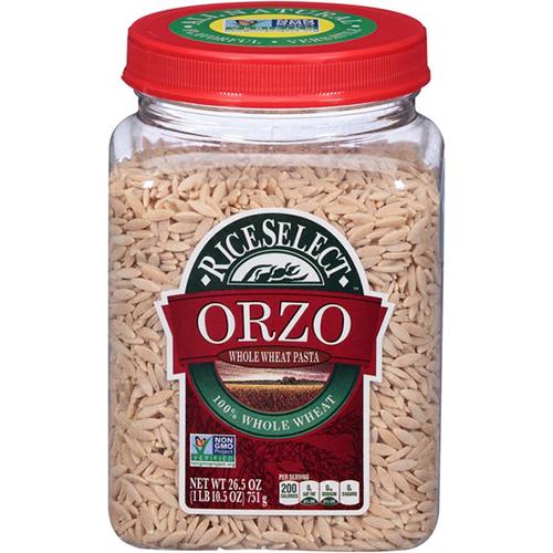 RICE SELECT - ORZO ORIGINAL PASTA - NON GMO - 28oz