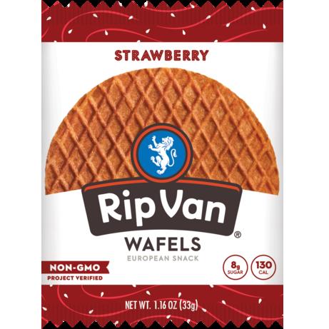 RIP VAN - WAFELS EUROPEAN SNACK - (Strawberry) - 1.16oz