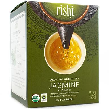 RISHI - GREEN TEA - (Jasmine) - 15bags