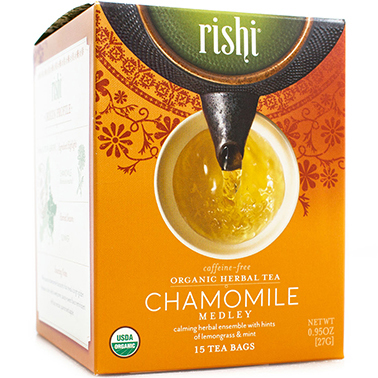 RISHI - HERBAL TEA - (Chamomile) - 15bags