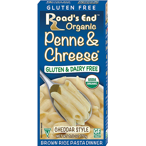 ROAD'S END - PENNE & CHREESE -GLUTEN & DAIRY FREE - 6.5oz