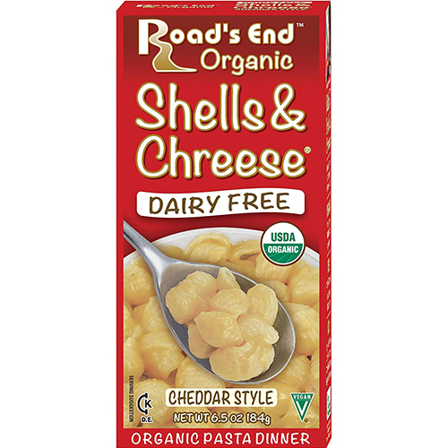 ROAD'S END - SHELLS & CHREESE - DAIRY FREE - 6.5oz