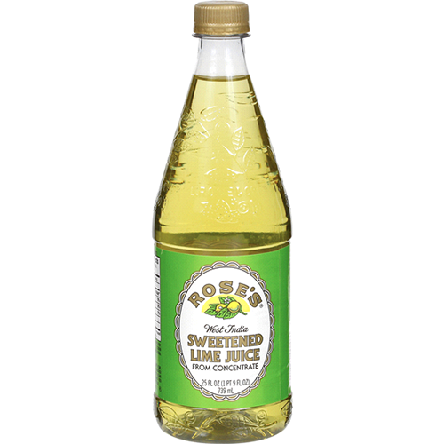 ROSE'S - SWEETENED LIME JUICE FROM CONCENTRATE - 25oz
