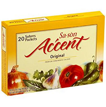 SA SON - ACCENT - (Culantro y Achiote) - 0.17oz(20PCKS)