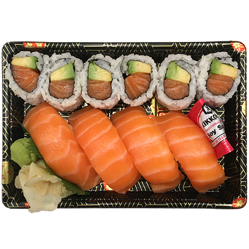 Salmon Avo Sushi & Roll Box
