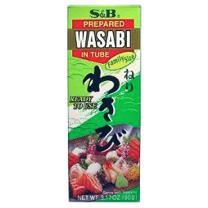 S&B - WASABI(TUBE) - GLUTEN FREE - 1.52oz