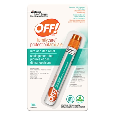 SC JOHNSON - OFF! FAMILYCARE BITE AND ITCH RELIEF - 0.5oz