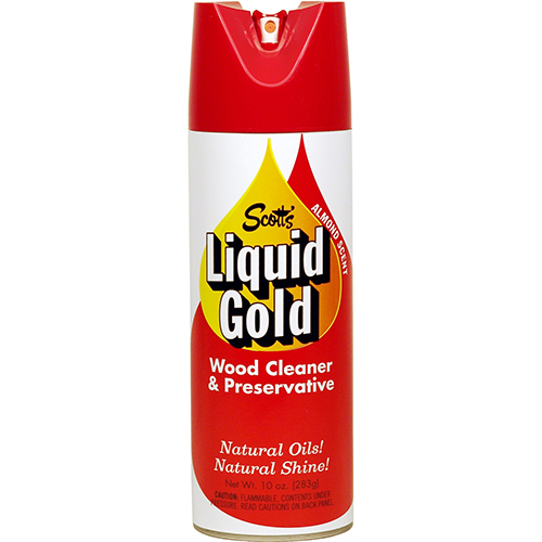 SCOTT'S - LIQUID GOLD WOOD CLEANER & PRESERVATIVE - 10oz