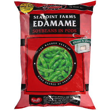 SEAPOINT FARMS - EDAMAME SOYBEANS IN PODS - GLUTEN FREE - 12oz