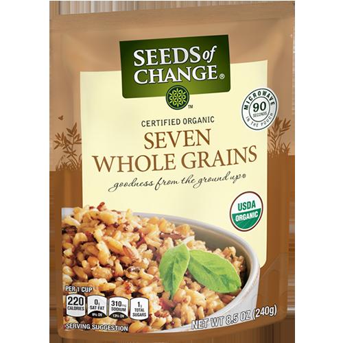 SEEDS OF CHANGE - SEVEN WHOLE GRAINS - 8.5oz
