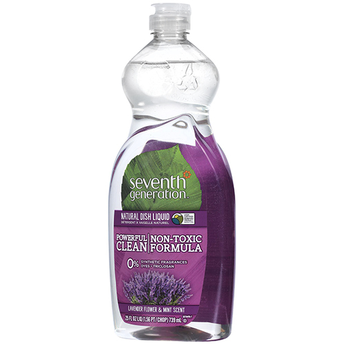 SEVENTH GENERATION - NATURAL DISH LIQUID - (Lavender & Mint) - 25oz