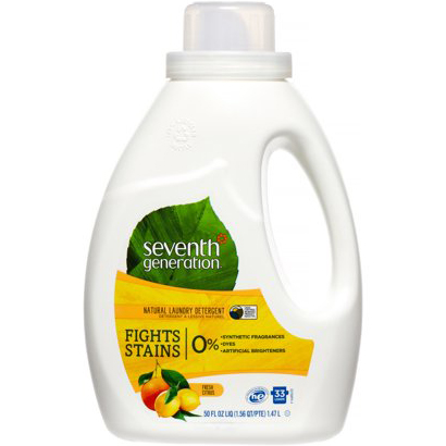SEVENTH GENERATION - NATURAL LAUNDRY DETERGENT - (Fresh Citrus) - 33loads | 50oz