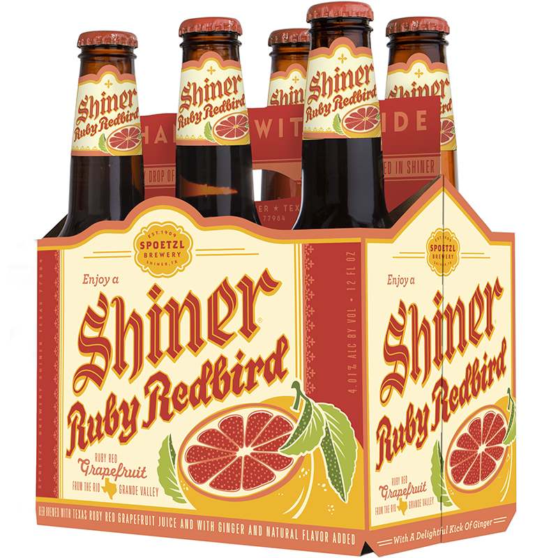 SHINER RUBY REDBIRD - (Bottle) - 12oz(6PK)