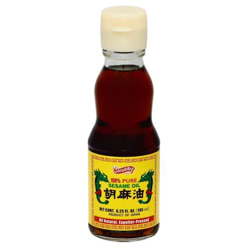 SHIRAKIKU - 100% PURE SESAME OIL - 6.25oz
